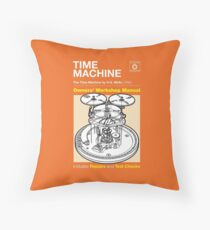 Owners Manual - HG Wells Time Machine Throw Pillow