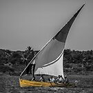 Yellow Dhow by Deborah V Townsend