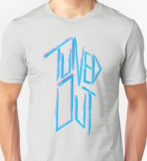 Tuned out -  Neon 80's punk T-Shirt