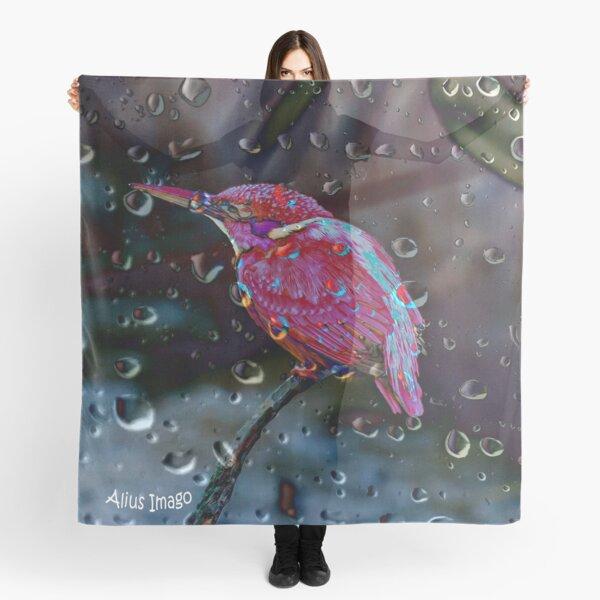 Raindrops - Kingfisher Scarf
