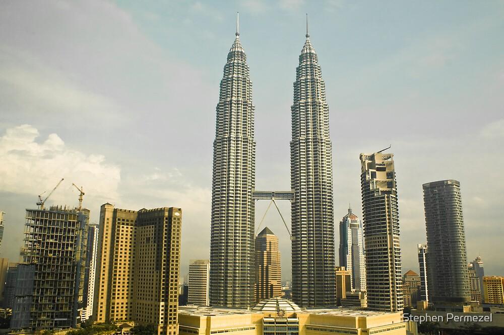 Petronas Towers - Kuala Lumpur, Malaysia by Stephen Permezel
