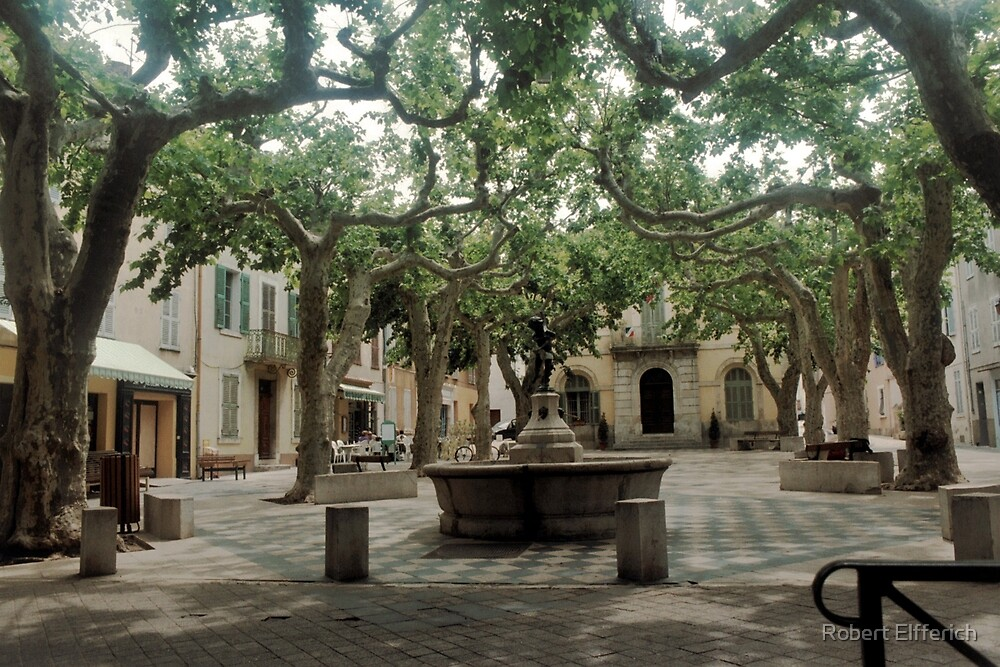 La Collobrières in the south of France. by Robert Elfferich
