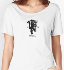 Manchester United Football Club Women's Relaxed Fit T-Shirt