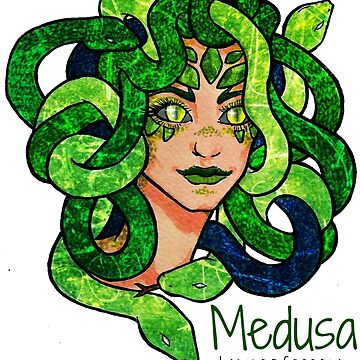 Lady Medusa by ValentinasWorks