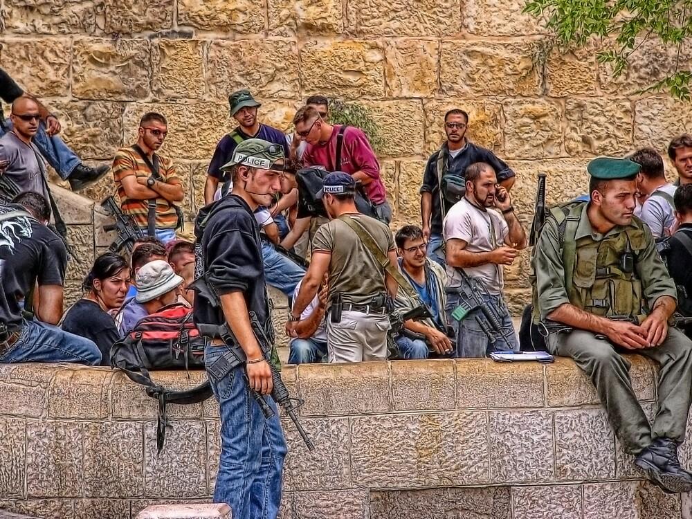 Soldier in Israel by Benjamin Katz