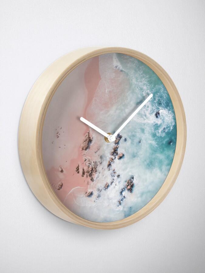 Alternate view of sea bliss Clock