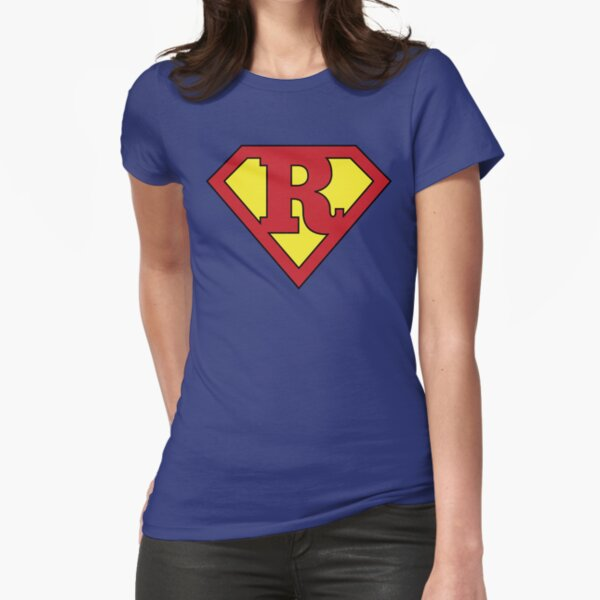 R Programming Superhero Cool Data Scientist/Engineer Design Fitted T-Shirt