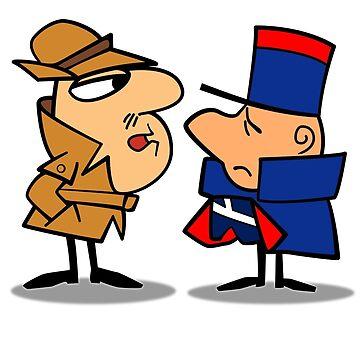 Clouseau and Deux Deux by trev4000