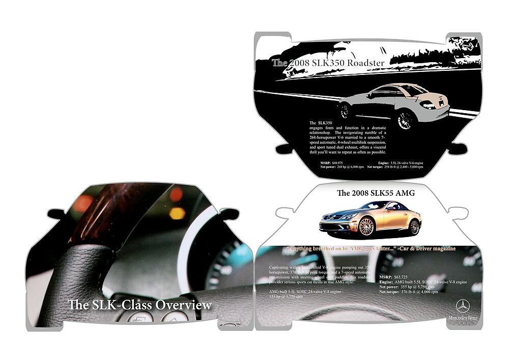 Mercedes-Benz SLK-Class [brochure (1 p., 3 p., 4 p.)]  by Alec Hildebrand