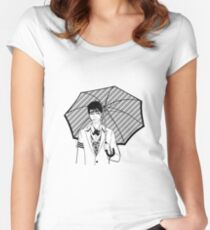 Gotham - Penguin Women's Fitted Scoop T-Shirt