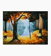 PINE WOOD limited edition giclee of L.AFREMOV painting Photographic Print