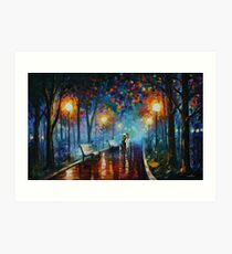 MISTY MOOD limited edition giclee of L.AFREMOV painting Art Print