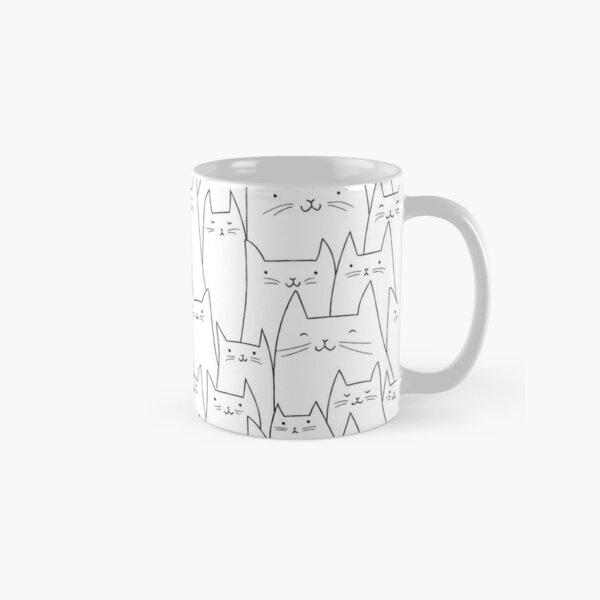 Wall of Cats 01 Classic Mug