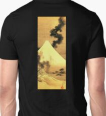 HOKUSAI, The Dragon Of Smoke Escaping From Mount Fuji Unisex T-Shirt