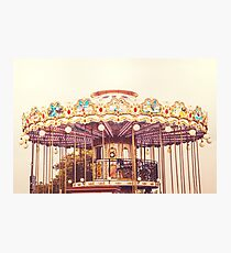 Carousel Photographic Print