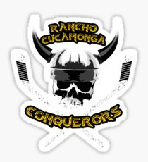 Rancho Cucamonga Conquerors Sticker
