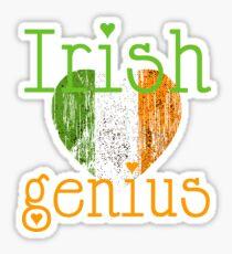 Irish genius  Sticker