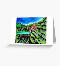Prosperity Path Vineyards #1 Greeting Card