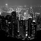 Hong Kong black and white by demistified
