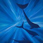 Dolphins in deep von Kissart