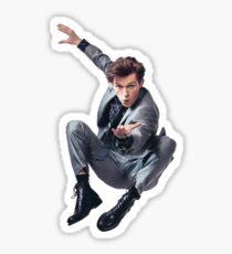 tom holland spidey pose Sticker
