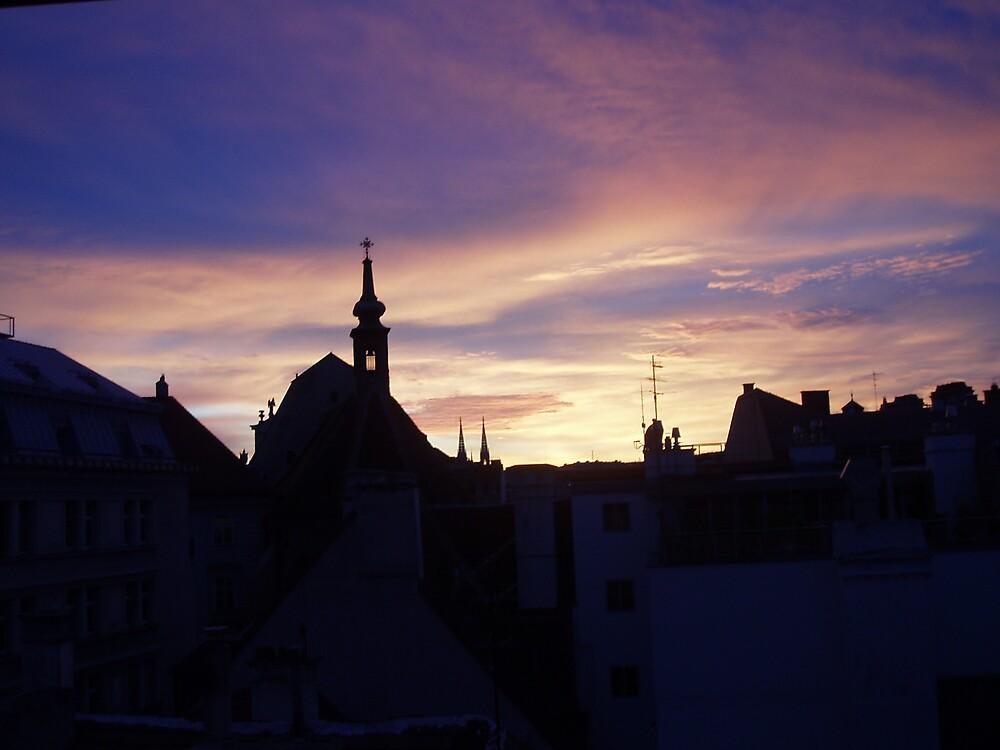 Wild sky by pinklioness