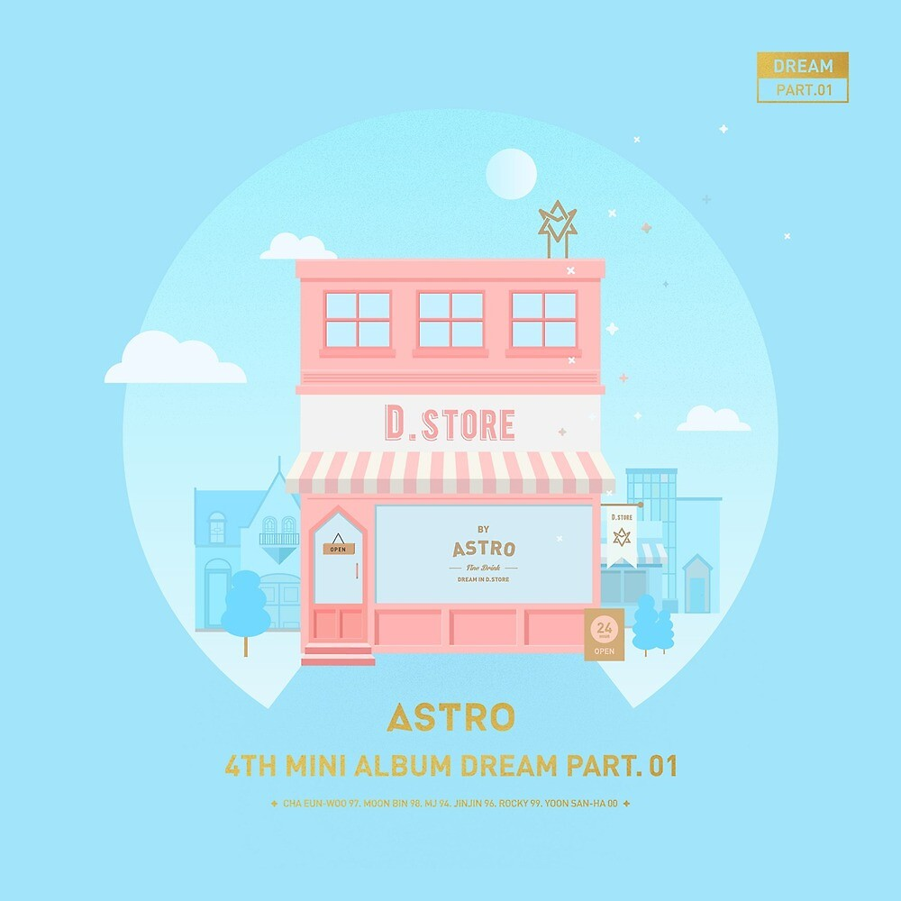 """Astro Baby Album Cover"" By Thekpopshop"