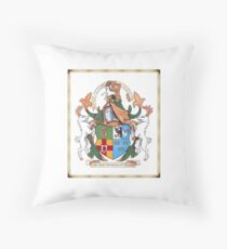 The Four Provinces of Ireland Coat of Arms Throw Pillow