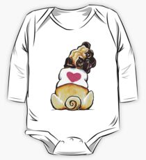 Sweetie Pug One Piece - Long Sleeve