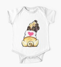 Sweetie Pug One Piece - Short Sleeve