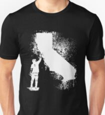 California Wall tagger white Unisex T-Shirt