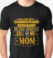 CORRECTIONS SERGEANT BEST COLLECTION 2017 Unisex T-Shirt