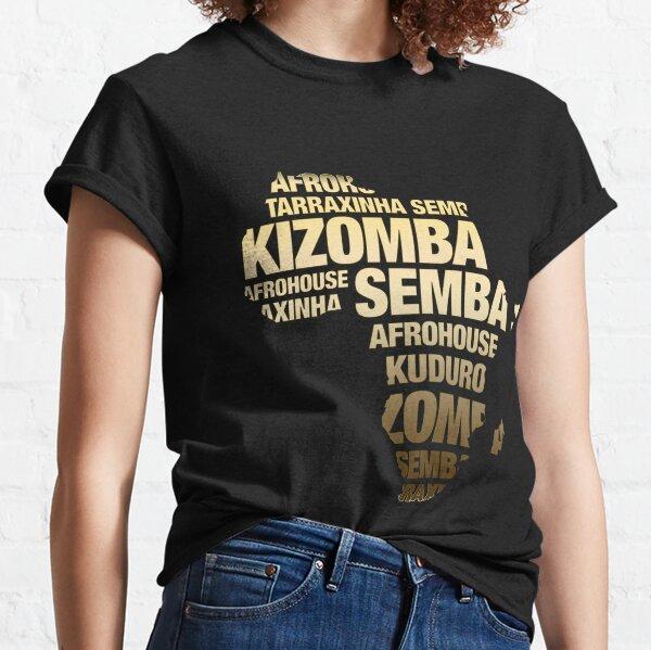 mapa de oro kizomba Camiseta clásica