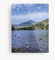Lake HDR Metal Print