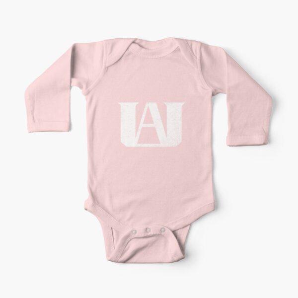U.A. Alto Body de manga larga para bebé