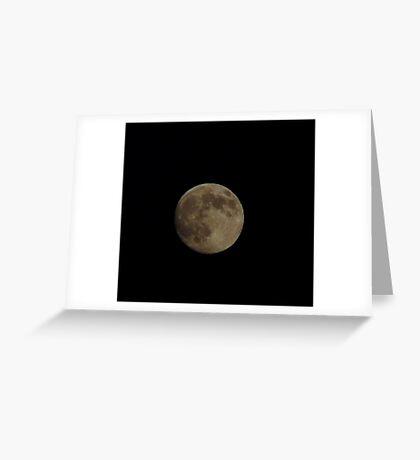 Moon 2 Greeting Card