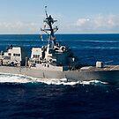 Lenkwaffenzerstörer USS Wayne E. Meyer. von StocktrekImages