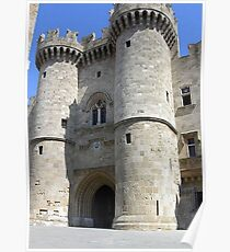 The Grand Master's Palace In Rhodes Island Greece Poster