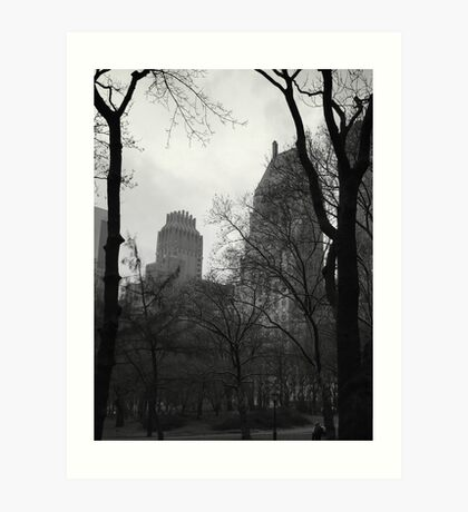 The Park View Art Print