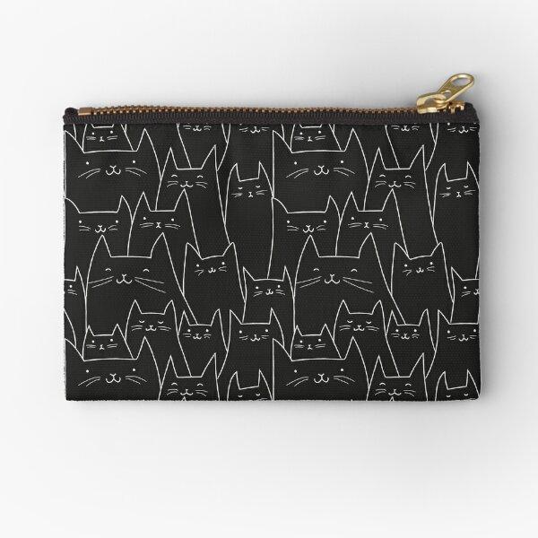 Wall of Cats 03 Zipper Pouch