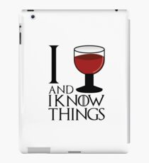 I drink and I know things - Tyrion Lannister iPad Case/Skin