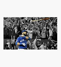 Jose Bat Throw Photographic Print