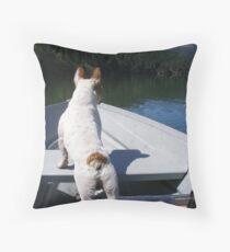Riding Tough! Throw Pillow