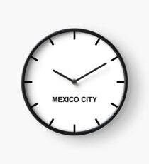 Mexico City Time Zone Newsroom Wall Clock Clock