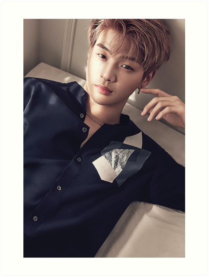 Wanna One 황 미현 Ft Kang Daniel 강 다니엘 Art Prints By Wanna