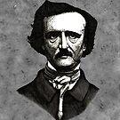 Edgar Allan Poe Artwork by lpodraw