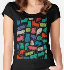 Cool Cats Women's Fitted Scoop T-Shirt