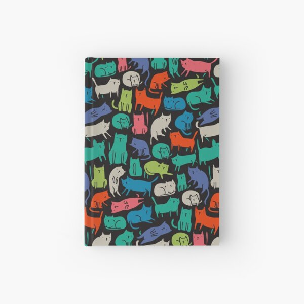 Cool Cats Hardcover Journal