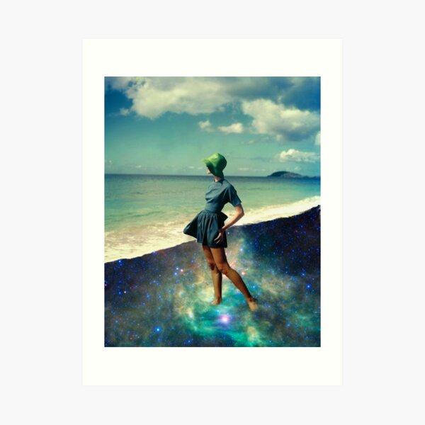 Star Bathing Art Print