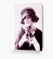 Marion Davies vintage color Greeting Card